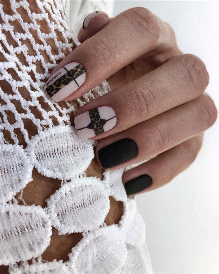 50 идей дизайна ногтей гель-лаком | 13