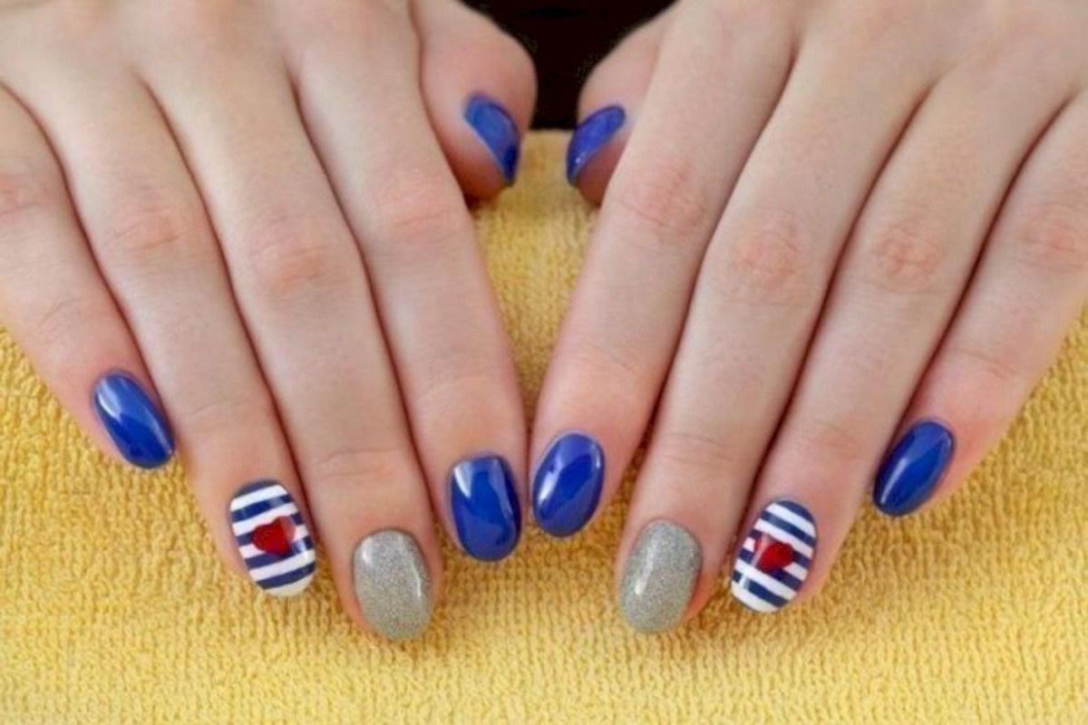 39 обворожительных идей дизайна ногтей на предстоящую весну | 13
