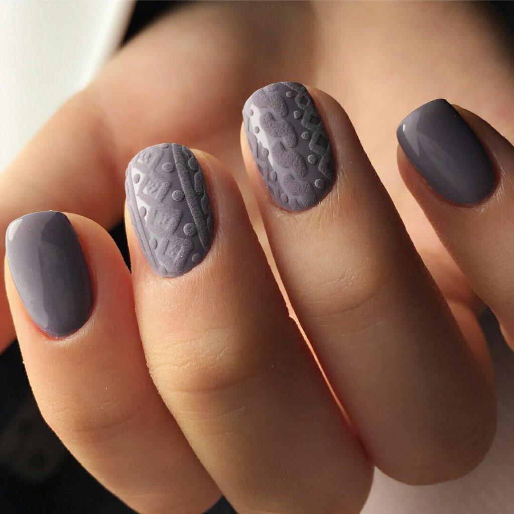 Идеи ежедневного маникюра на короткие квадратные ногти | 14
