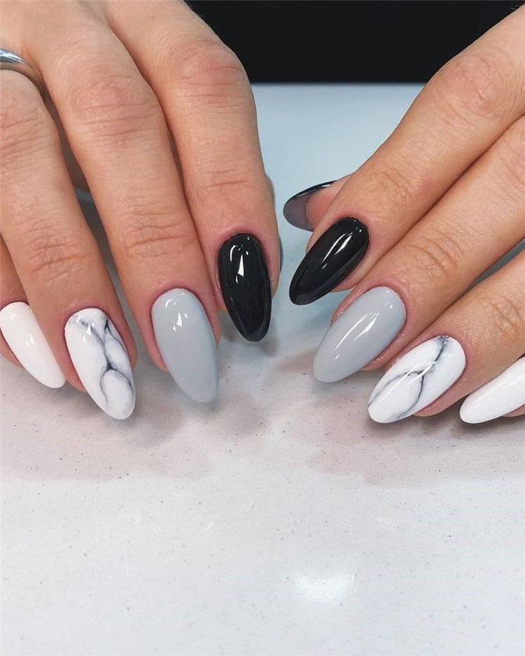 50 идей дизайна ногтей гель-лаком | 14
