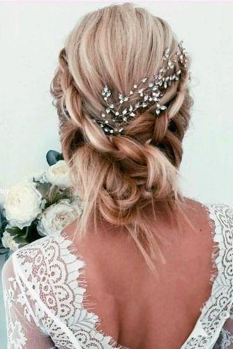 39 элегантных свадебных причесок   15