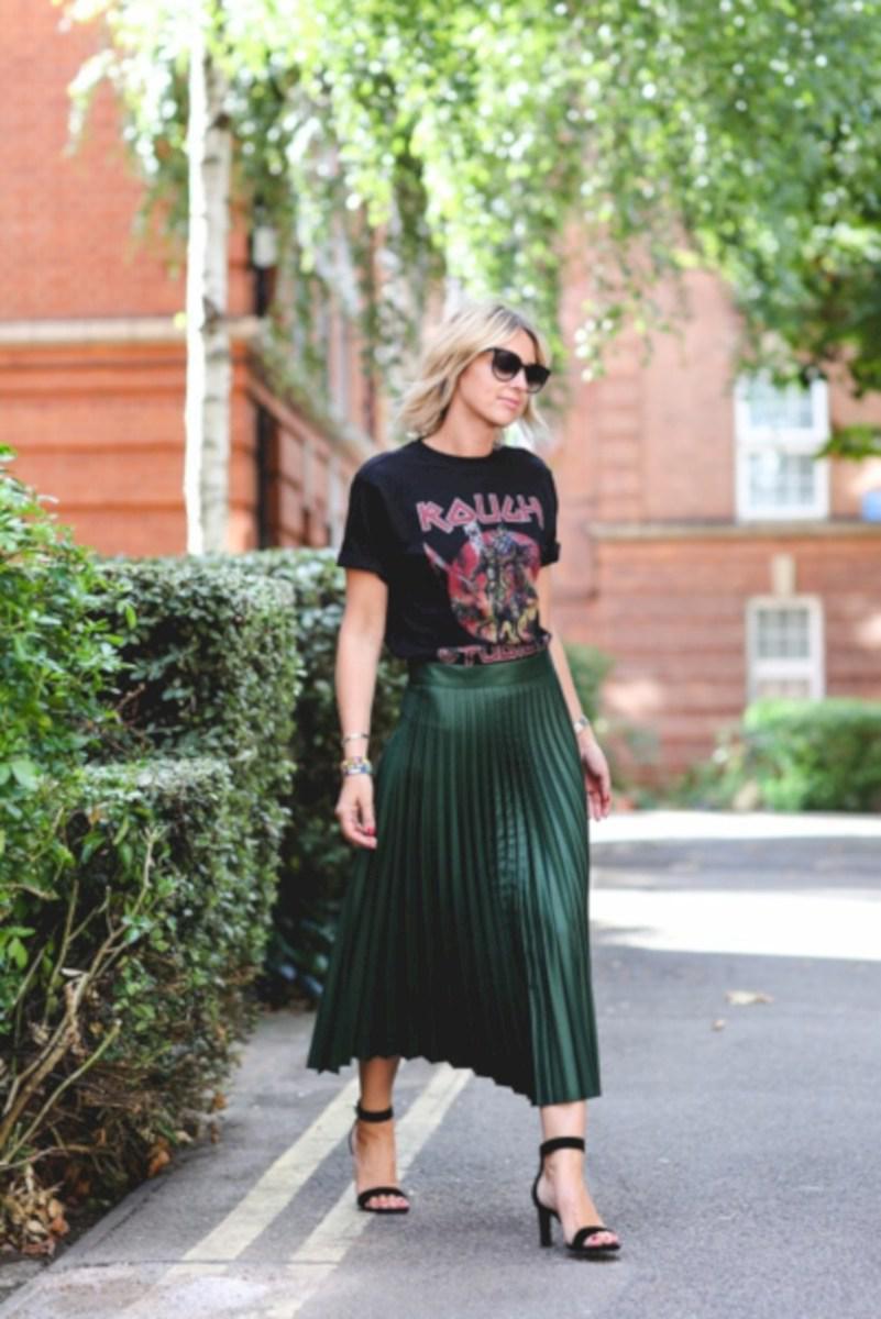 37 весенних образов с модными юбками которые вы должны попробовать | 15