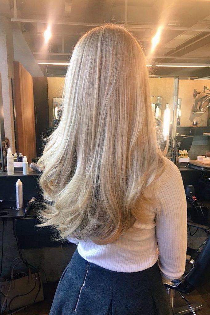 43 кокетливые прически для блондинок   15