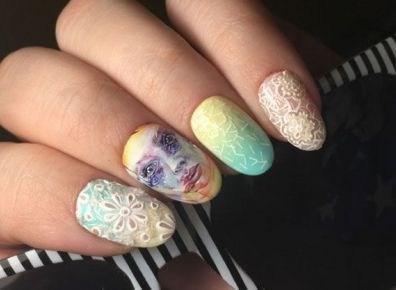 39 обворожительных идей дизайна ногтей на предстоящую весну | 15