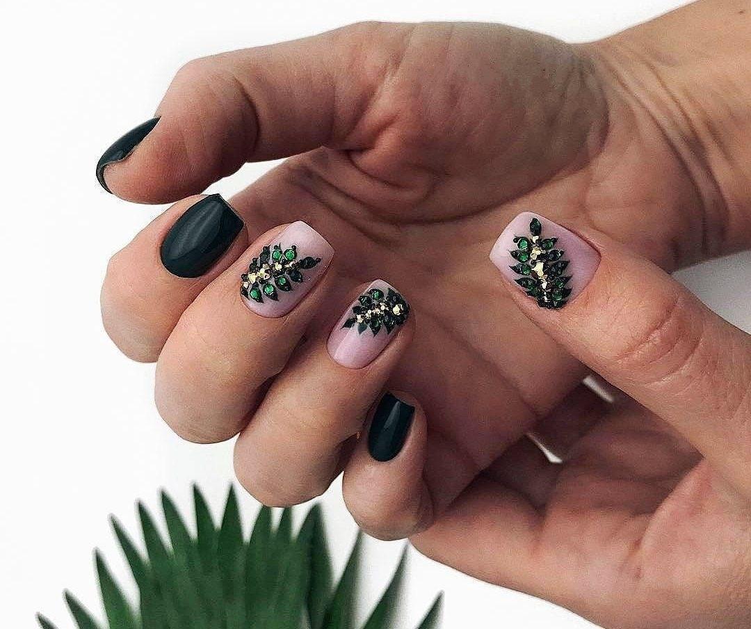 39 обворожительных идей дизайна ногтей на предстоящую весну | 16