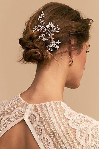 39 элегантных свадебных причесок   16