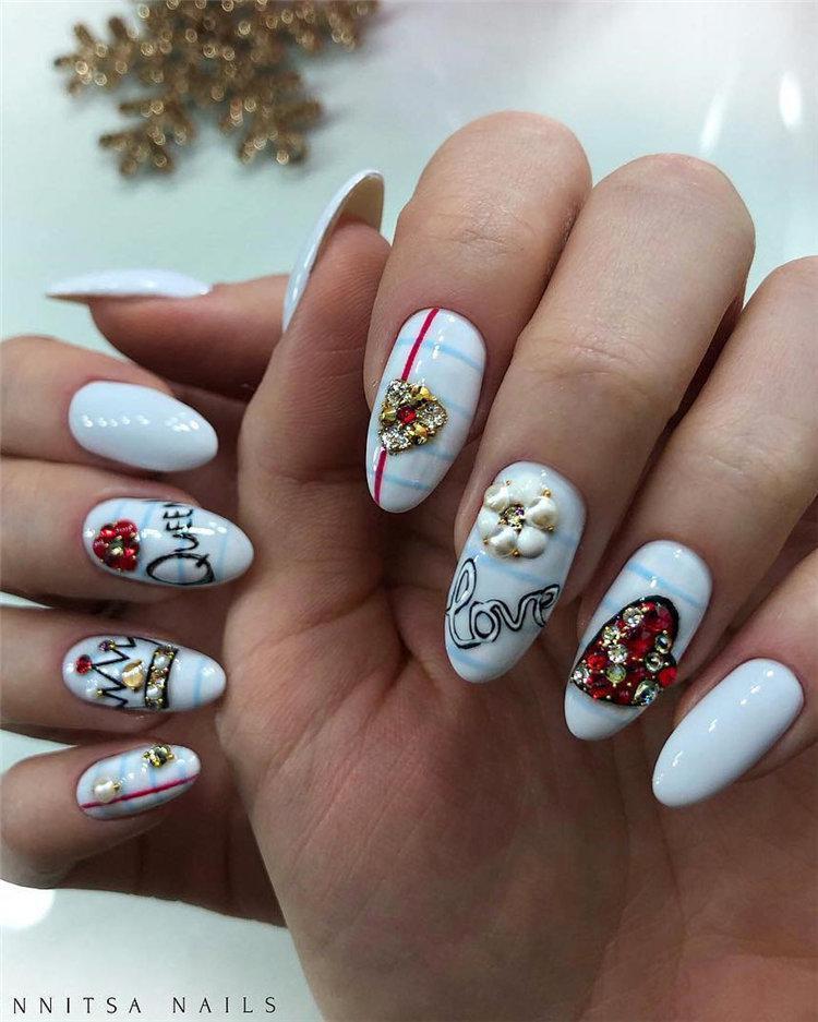50 идей дизайна ногтей гель-лаком | 17