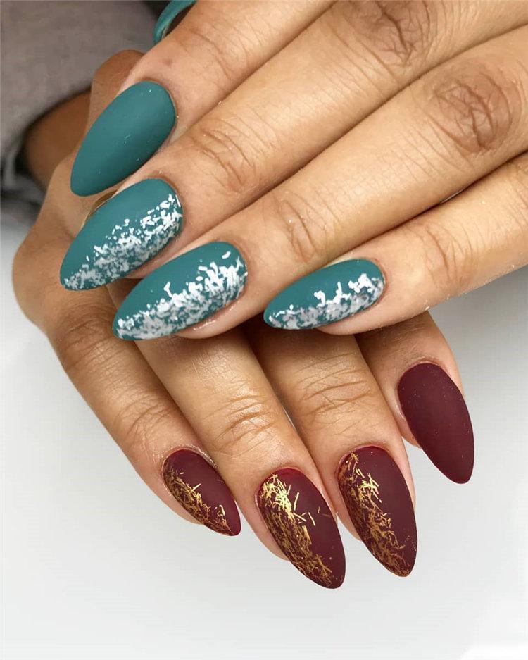 50 идей дизайна ногтей гель-лаком | 18