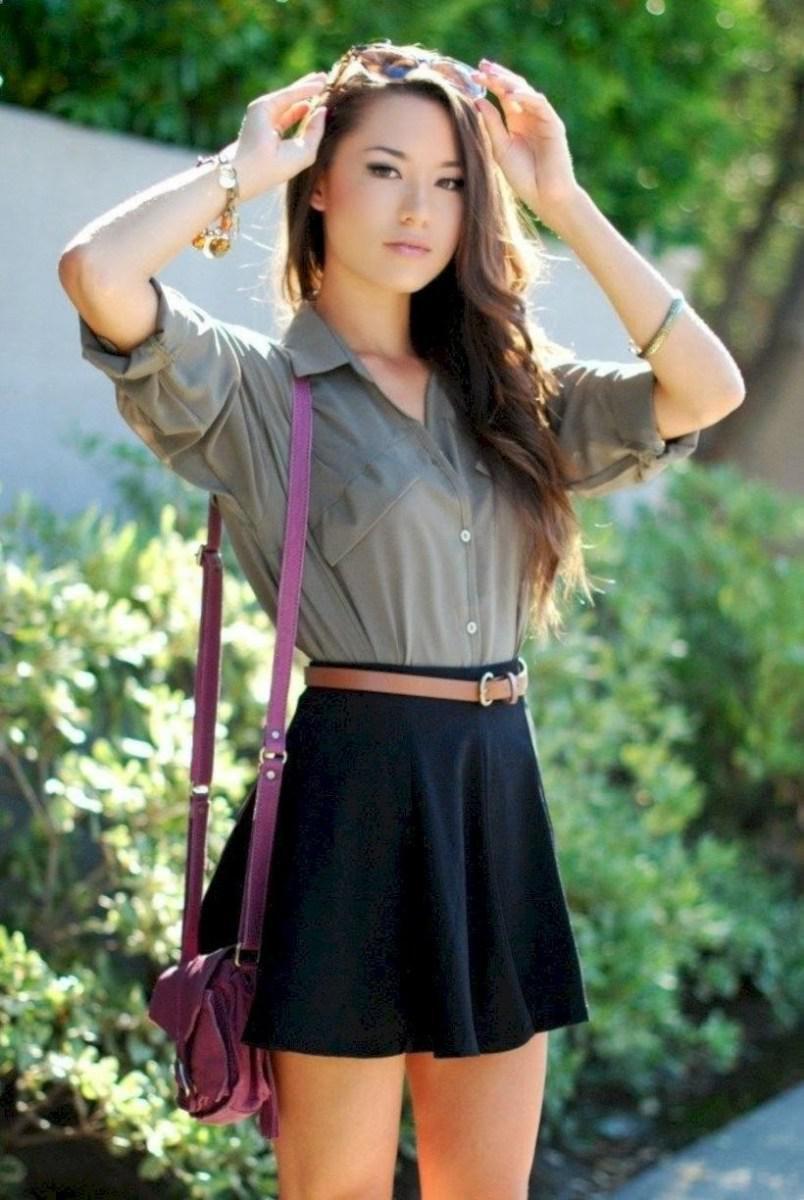 37 весенних образов с модными юбками которые вы должны попробовать | 18
