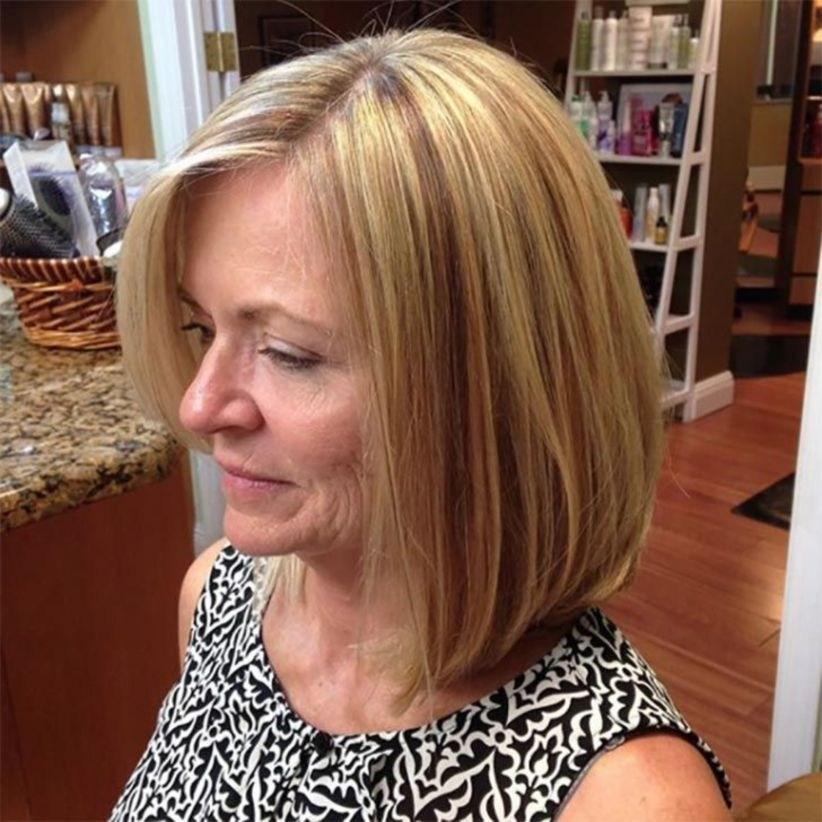 38 милых стрижек для женщин старше 40, которые помогут сбросить 10 лет | 19