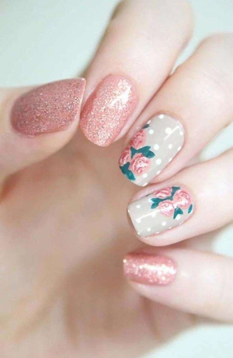 39 обворожительных идей дизайна ногтей на предстоящую весну | 19