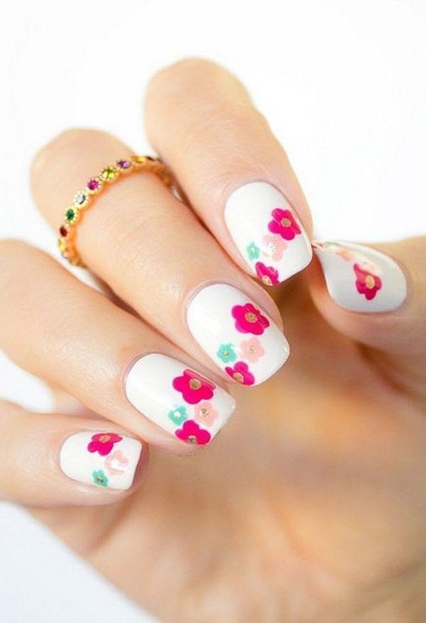 39 обворожительных идей дизайна ногтей на предстоящую весну | 2