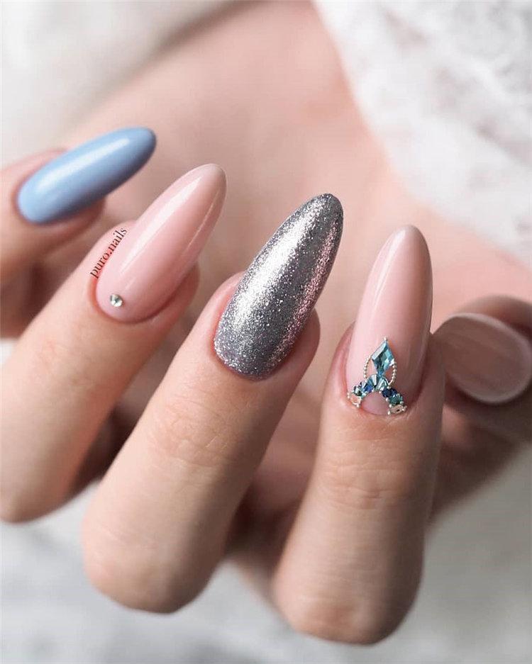 50 идей дизайна ногтей гель-лаком | 2