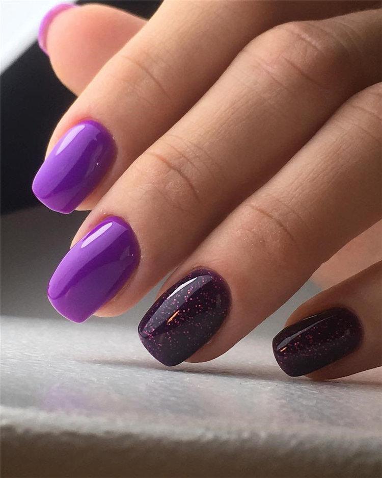 50 идей дизайна ногтей гель-лаком | 20