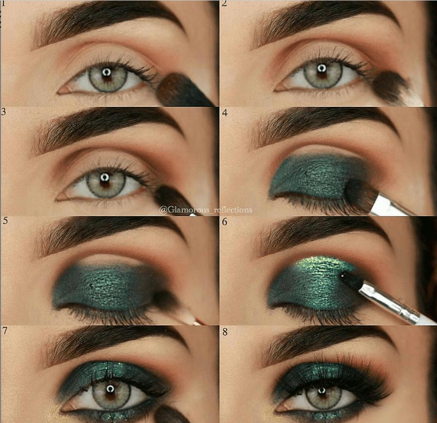 60 пошаговых схем макияжа для век | 20