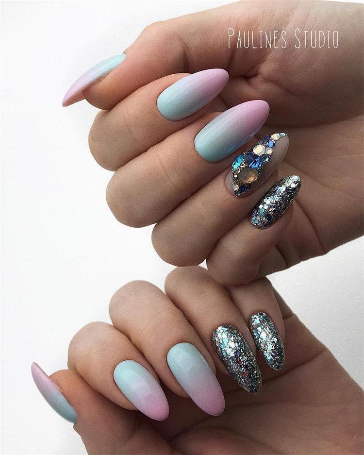 50 идей дизайна ногтей гель-лаком | 21