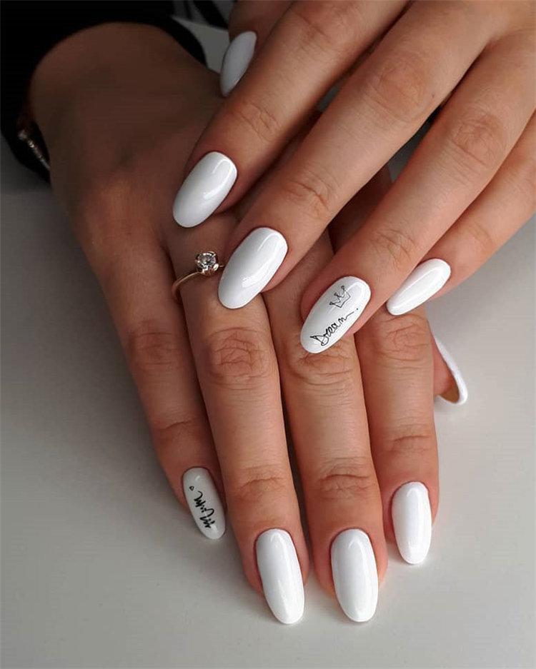 50 идей дизайна ногтей гель-лаком | 22