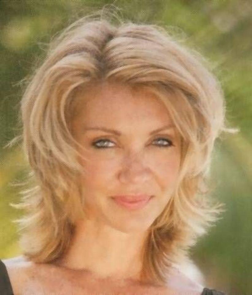 38 милых стрижек для женщин старше 40, которые помогут сбросить 10 лет | 22