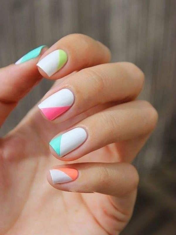 39 обворожительных идей дизайна ногтей на предстоящую весну | 22