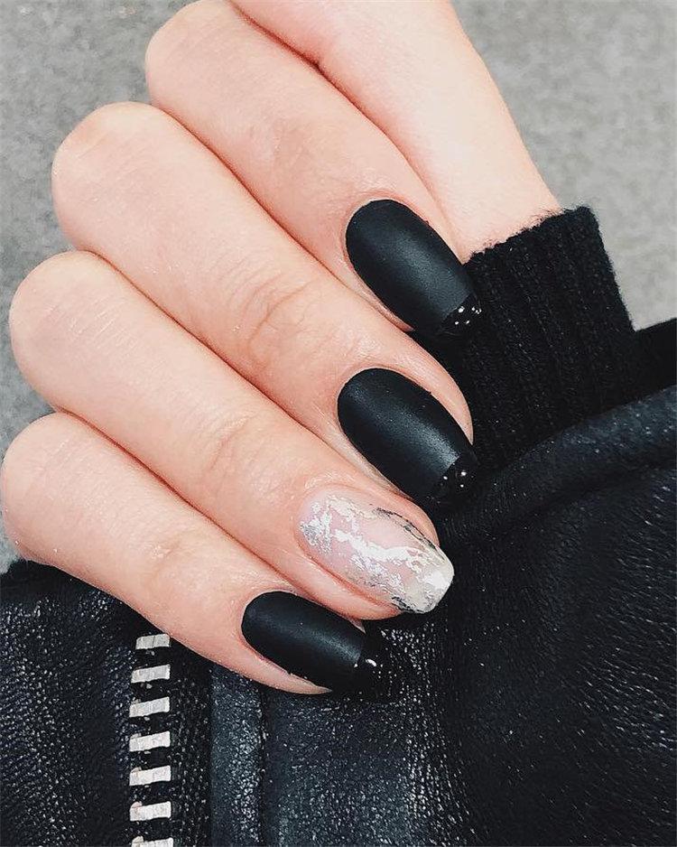 50 идей дизайна ногтей гель-лаком | 23