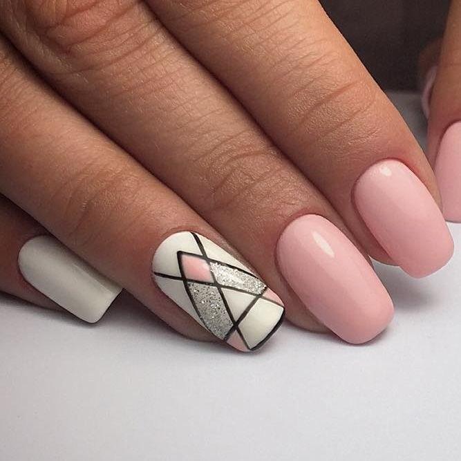 39 обворожительных идей дизайна ногтей на предстоящую весну | 23