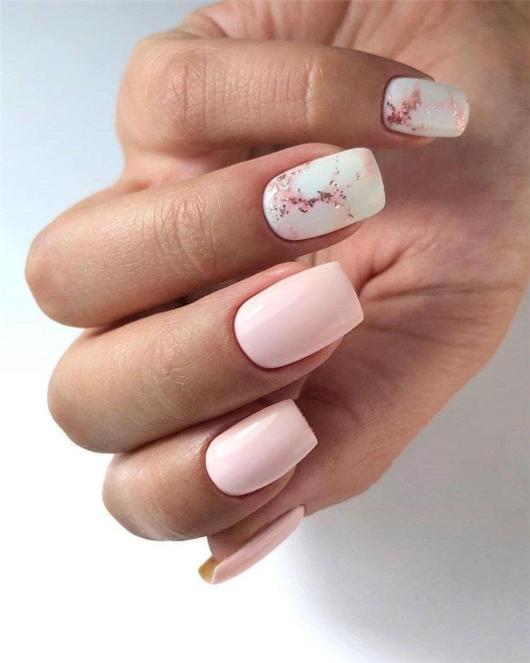 50 идей дизайна ногтей гель-лаком | 24