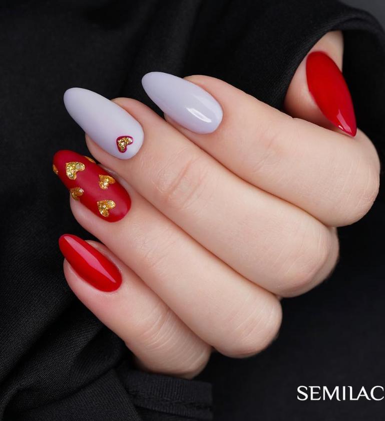 Модные идеи дизайна на овальные ногти | 24