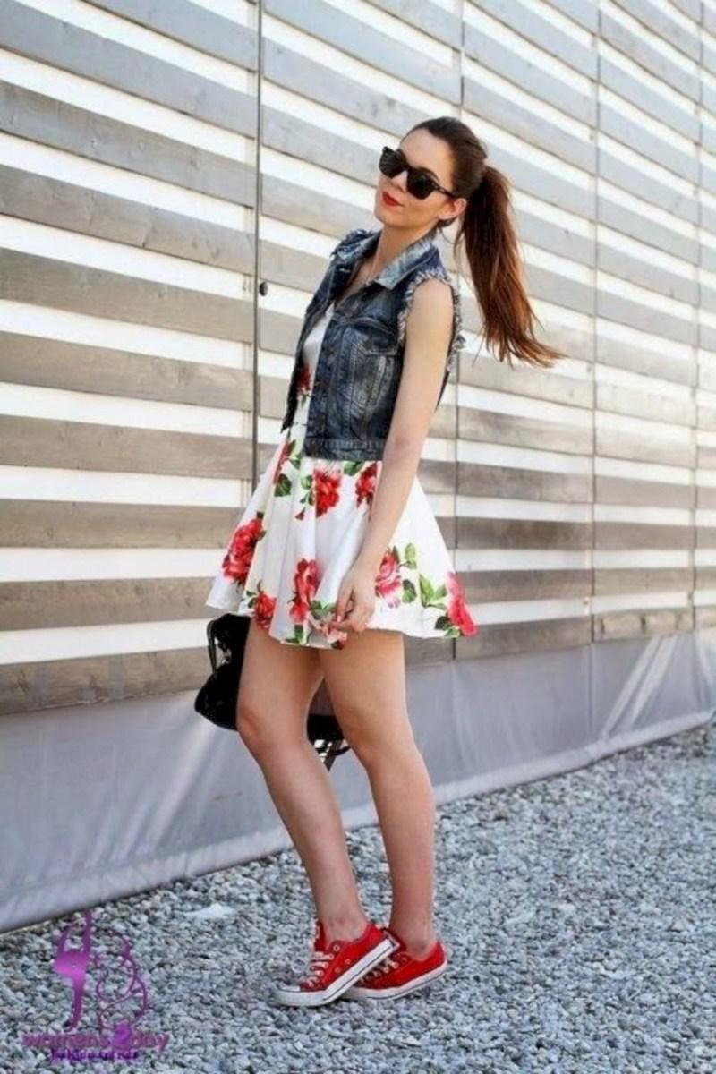 37 весенних образов с модными юбками которые вы должны попробовать | 24