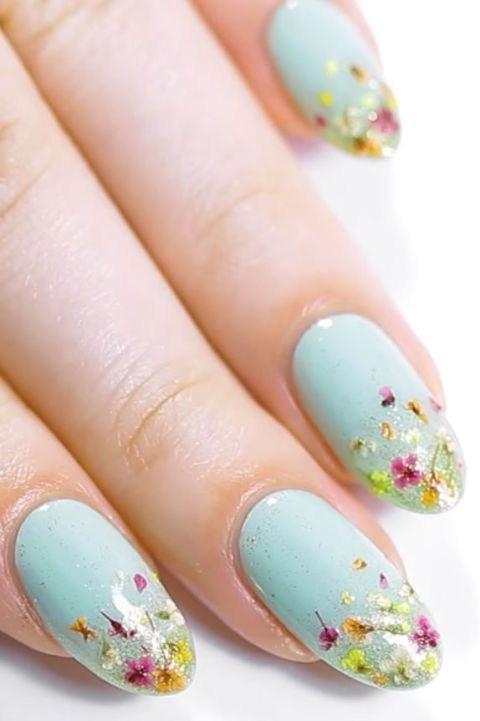 39 обворожительных идей дизайна ногтей на предстоящую весну | 24