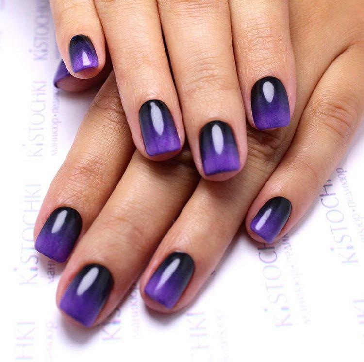 Идеи ежедневного маникюра на короткие квадратные ногти | 25