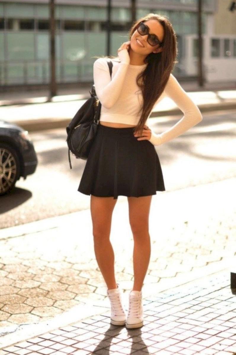 37 весенних образов с модными юбками которые вы должны попробовать | 25