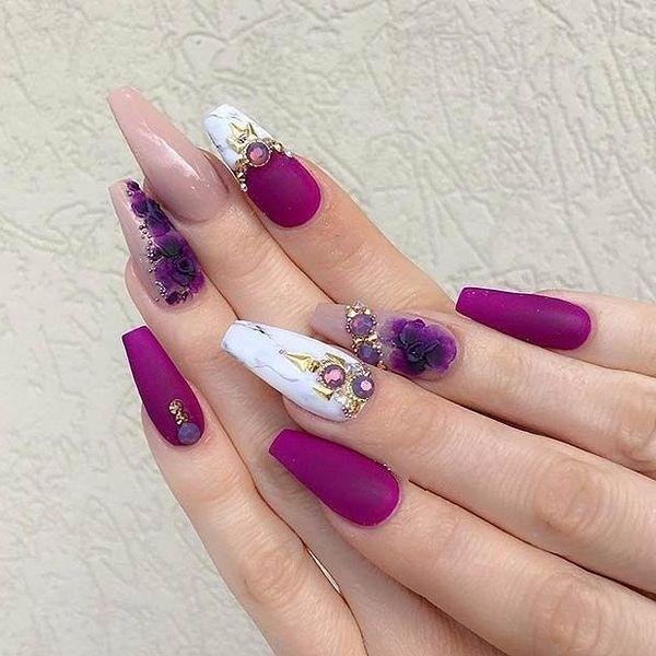 39 обворожительных идей дизайна ногтей на предстоящую весну | 25