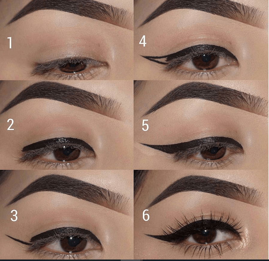 60 пошаговых схем макияжа для век | 26