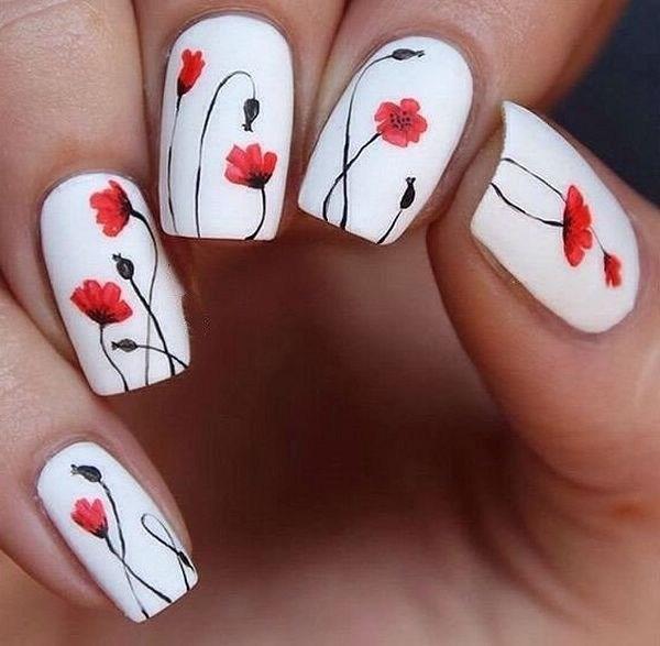 39 обворожительных идей дизайна ногтей на предстоящую весну | 26
