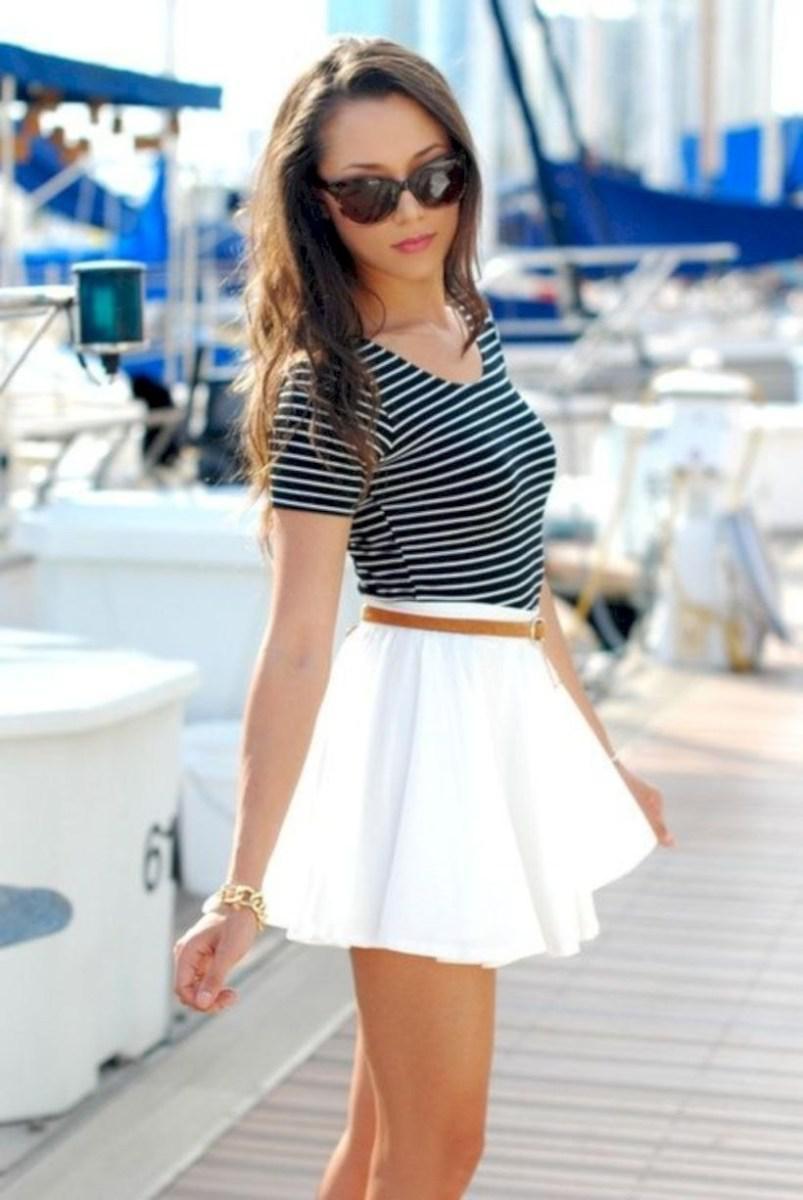 37 весенних образов с модными юбками которые вы должны попробовать | 27