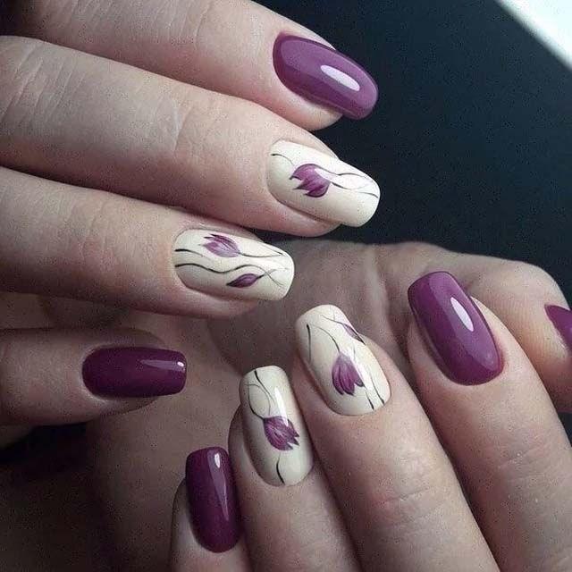 39 обворожительных идей дизайна ногтей на предстоящую весну | 27