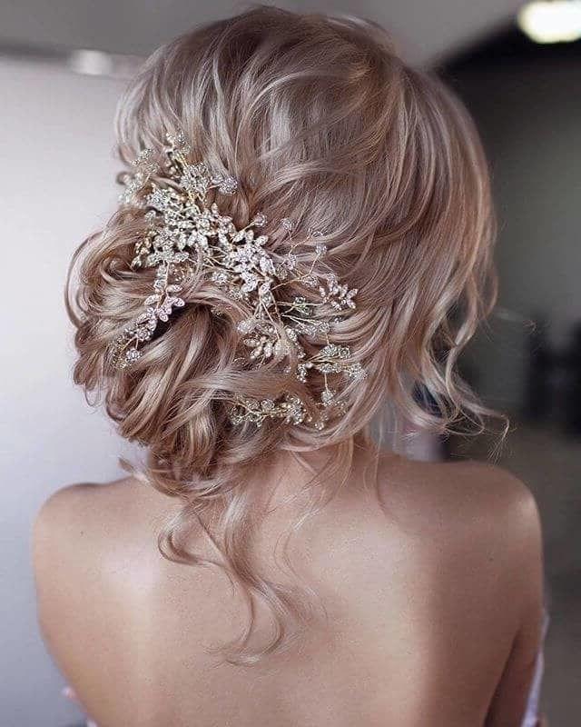 39 элегантных свадебных причесок   28