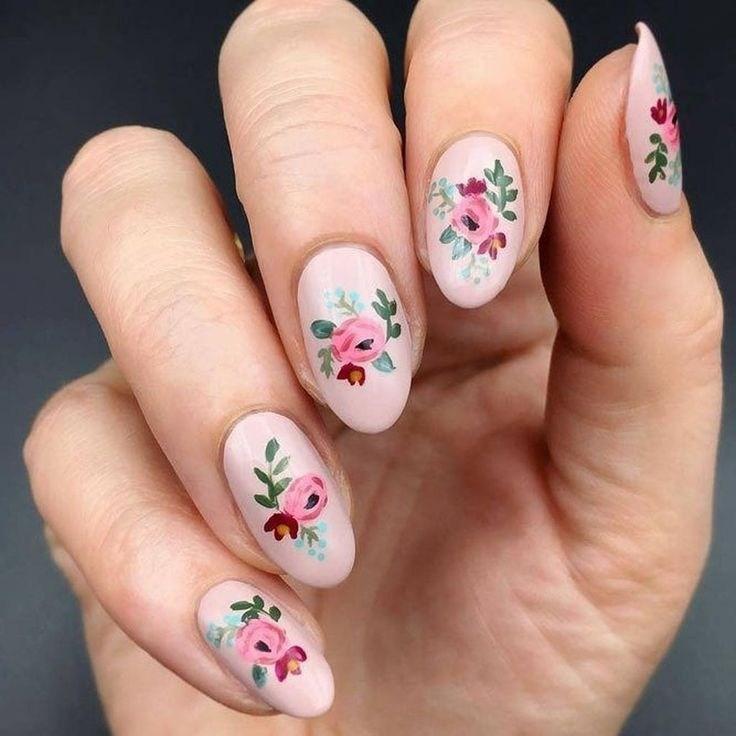 39 обворожительных идей дизайна ногтей на предстоящую весну | 28