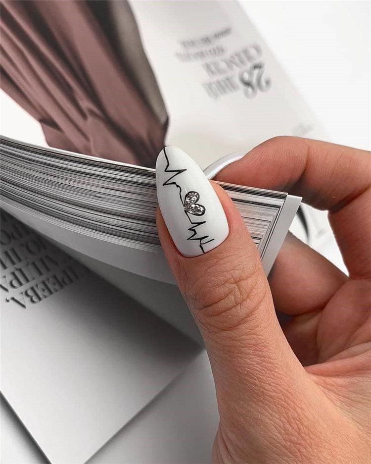 50 идей дизайна ногтей гель-лаком | 3