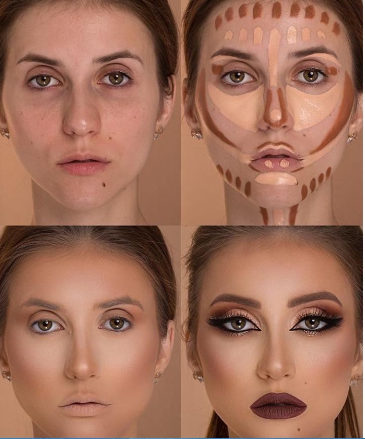 Пошаговые схемы профессионального макияжа для начинающих | 3