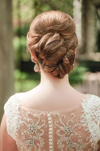 39 элегантных свадебных причесок   30