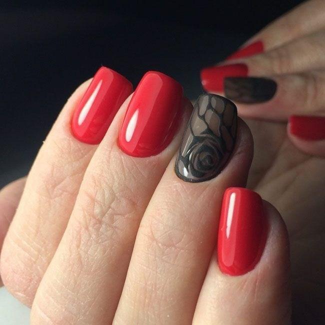 39 обворожительных идей дизайна ногтей на предстоящую весну | 30