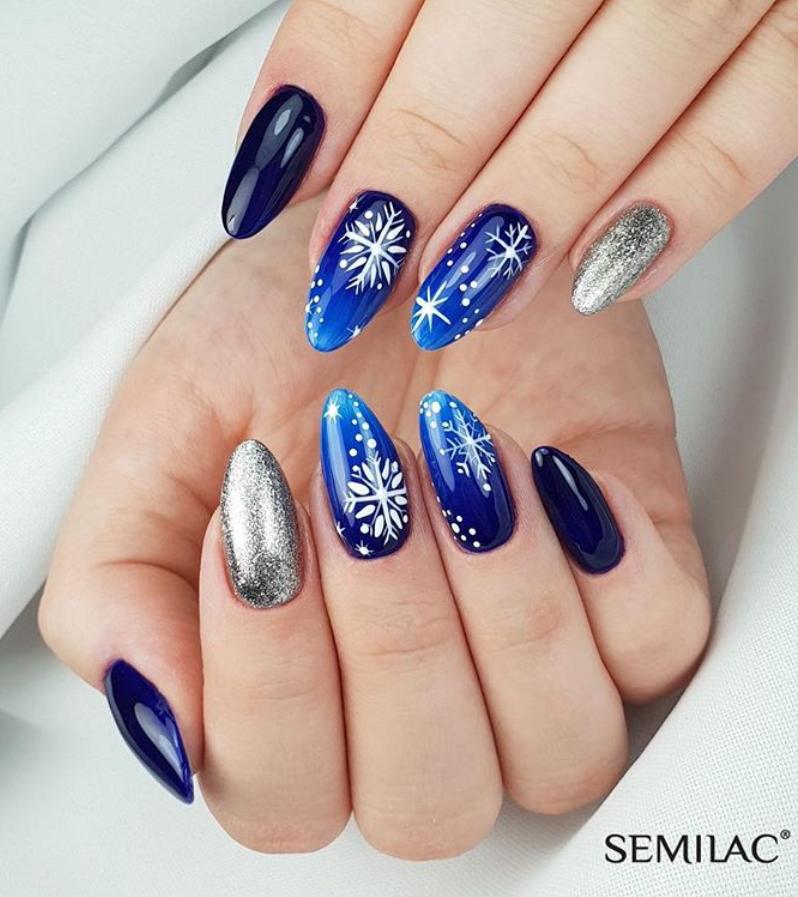 Модные идеи дизайна на овальные ногти | 31