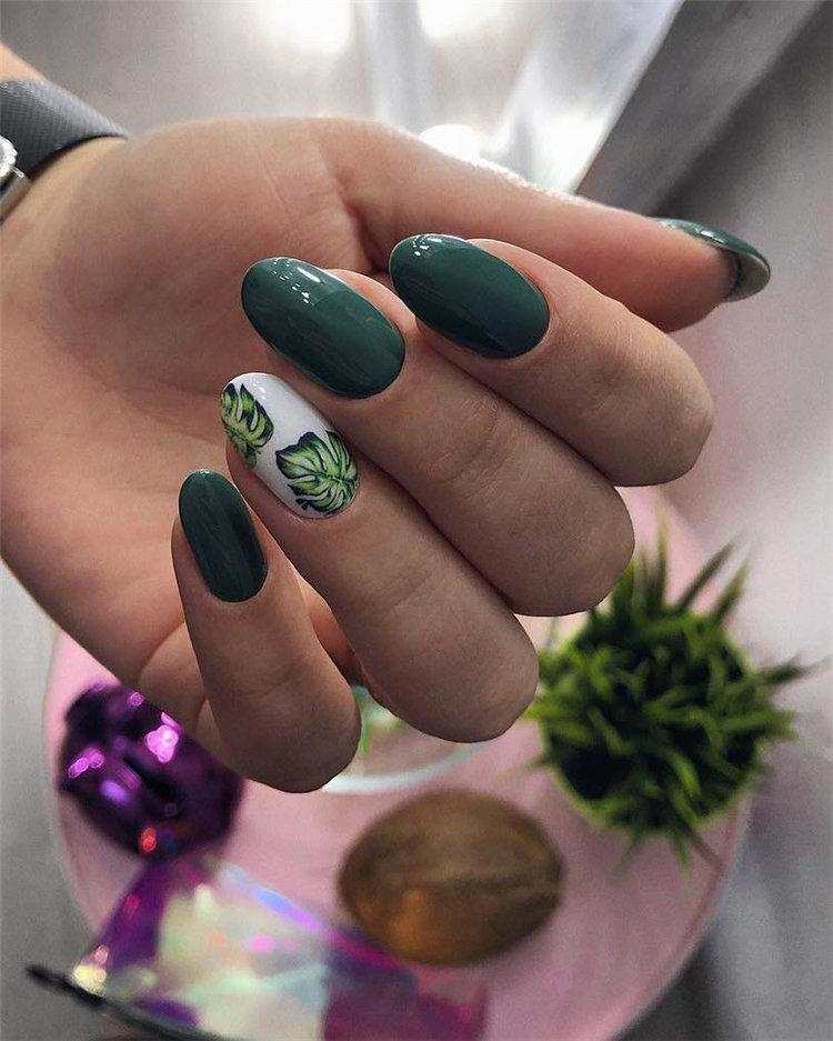 50 идей дизайна ногтей гель-лаком | 33