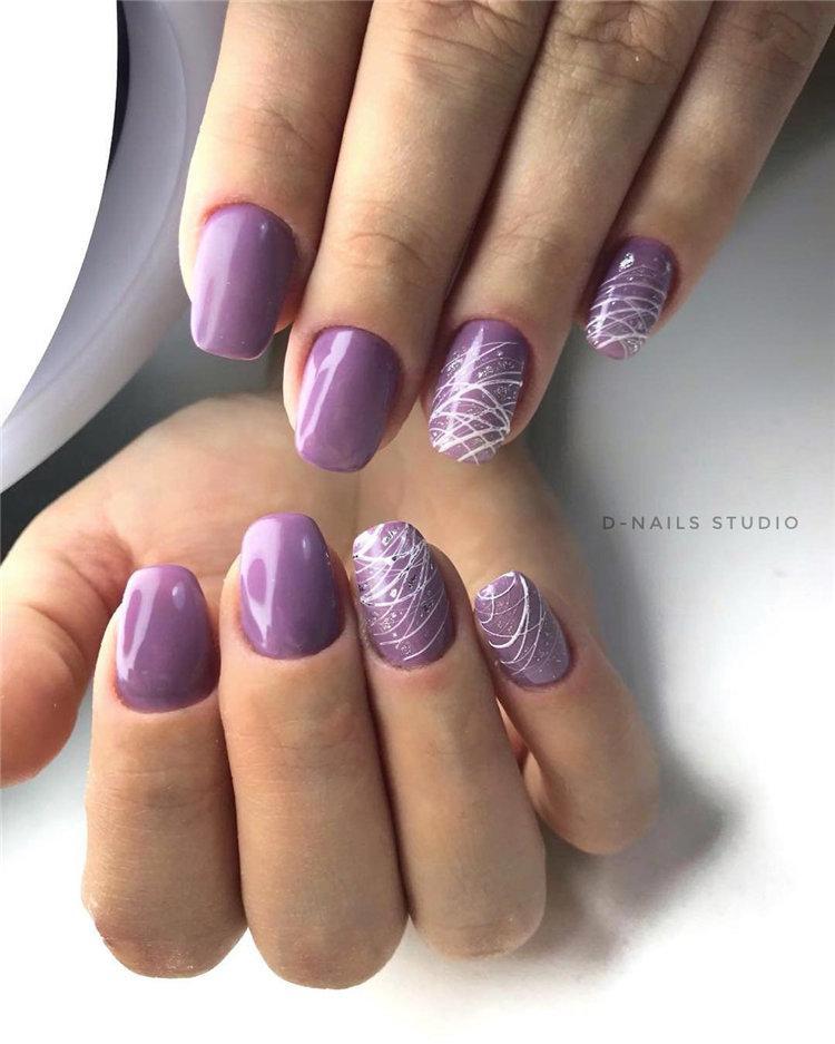 50 идей дизайна ногтей гель-лаком | 34