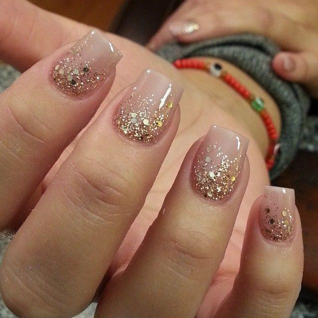 Идеи ежедневного маникюра на короткие квадратные ногти | 34