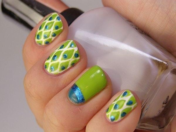 39 обворожительных идей дизайна ногтей на предстоящую весну | 35