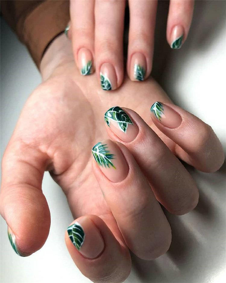 50 идей дизайна ногтей гель-лаком | 37
