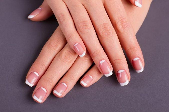 Идеи ежедневного маникюра на короткие квадратные ногти | 37