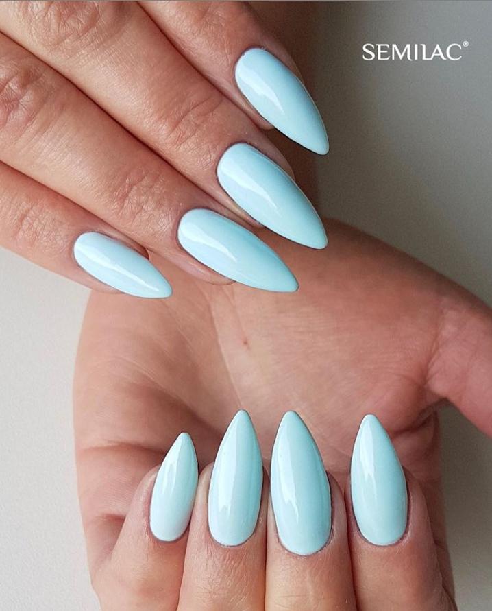 Модные идеи дизайна на овальные ногти | 4